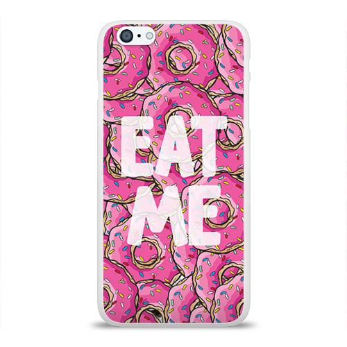 Чехол для Apple iPhone 6Plus/6SPlus силиконовый глянцевый Eat me