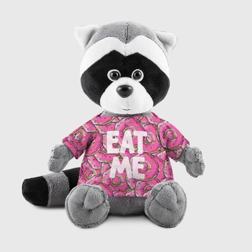 Енотик в футболке 3D Eat me