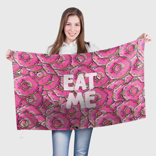 Флаг 3D Eat me