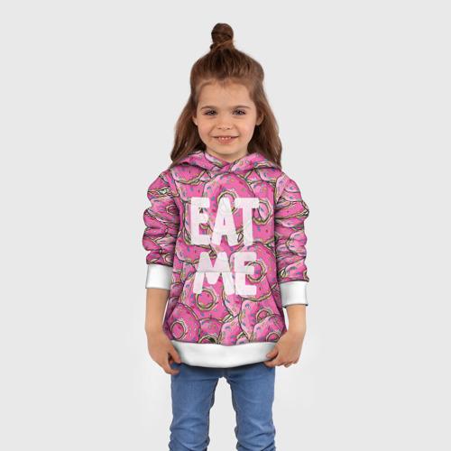 Детская толстовка 3D Eat me