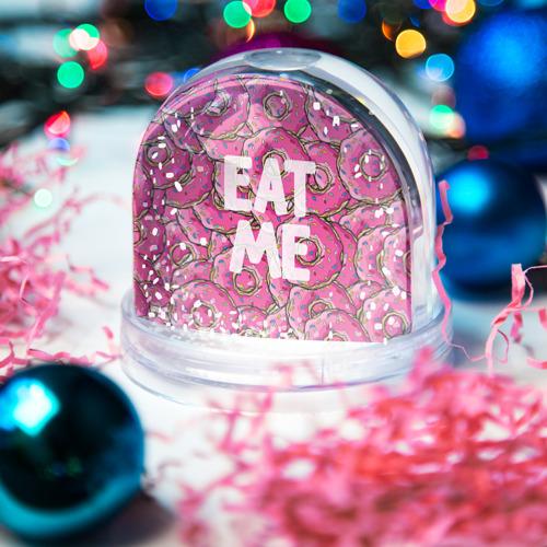 Водяной шар со снегом  Фото 03, Eat me