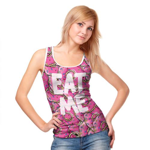 Женская майка 3D  Фото 05, Eat me