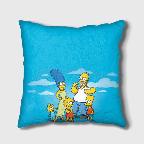 Подушка 3D Симпсоны