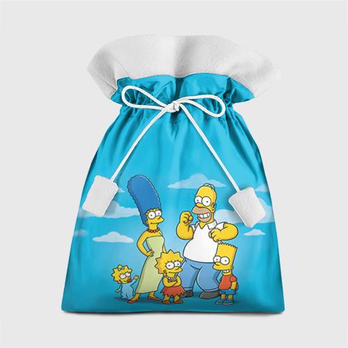 Подарочный 3D мешок Симпсоны от Всемайки