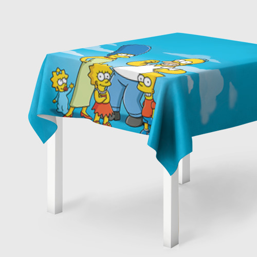 Скатерть 3D Симпсоны