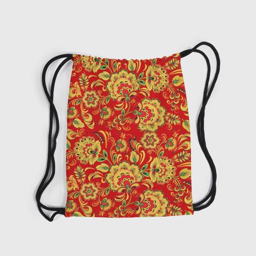 Рюкзак-мешок 3D  Фото 04, Хохлома