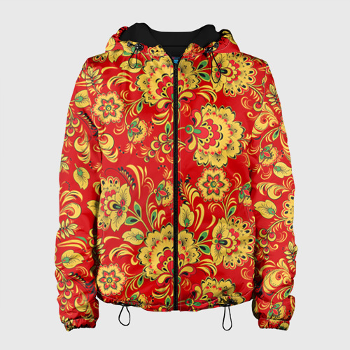 Женская куртка 3D Хохлома