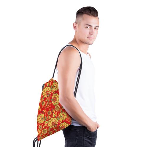 Рюкзак-мешок 3D  Фото 03, Хохлома