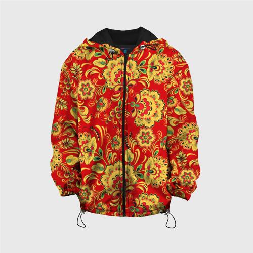 Детская куртка 3D Хохлома