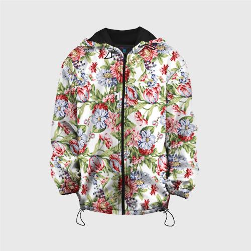 Детская куртка 3D Цветы