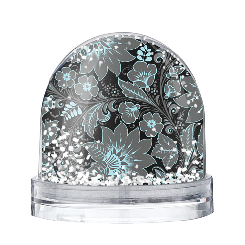 Водяной шар со снегом Узор
