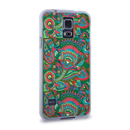 Чехол для Samsung Galaxy S5 силиконовый  Фото 02, Узор