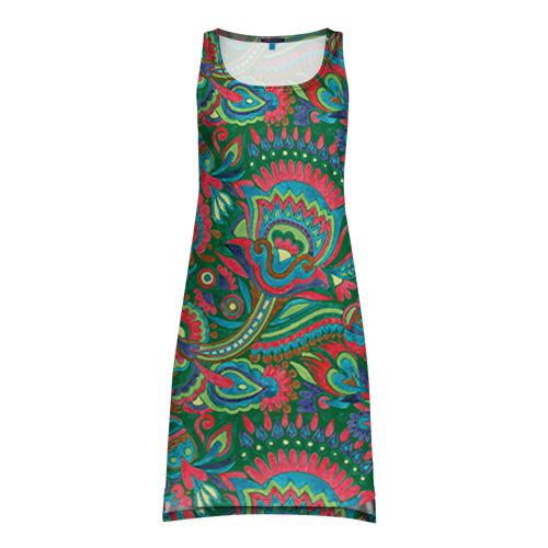 Платье-майка 3D Узор