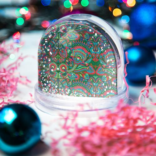 Водяной шар со снегом  Фото 03, Узор