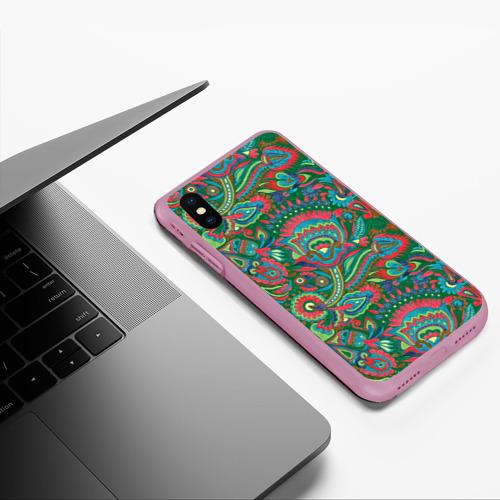 Чехол для iPhone XS Max матовый Узор Фото 01