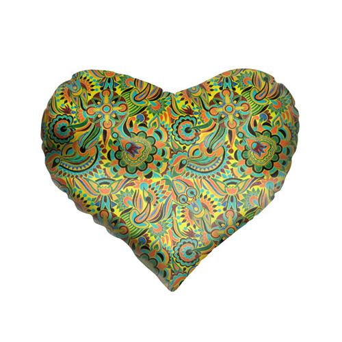 Подушка 3D сердце Узор