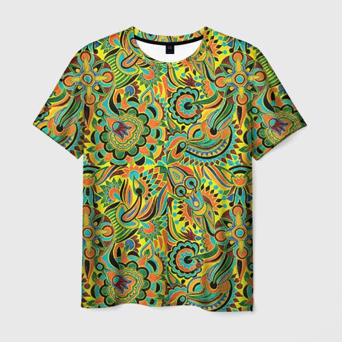 Мужская футболка 3D Узор