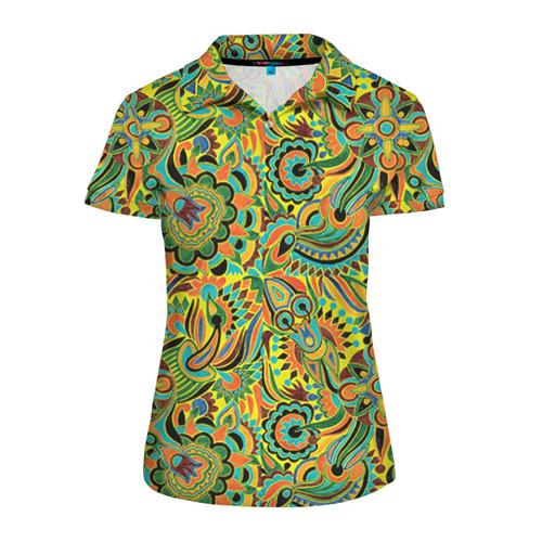 Женская рубашка поло 3D Узор