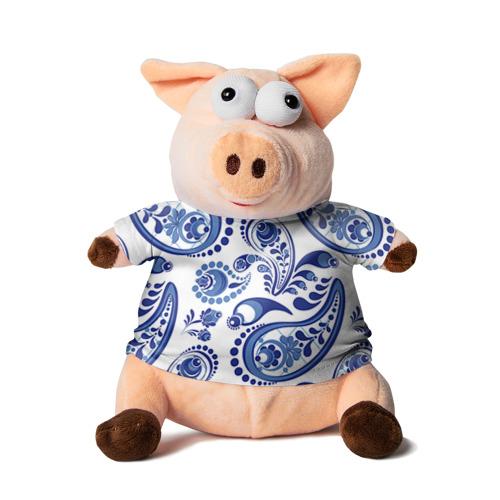Свинка в футболке 3D Восточные огурцы