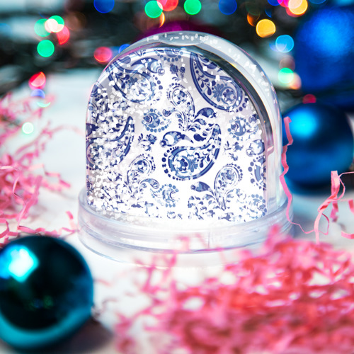 Водяной шар со снегом  Фото 04, Восточные огурцы