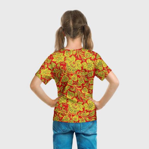 Детская футболка 3D Хохлома Фото 01