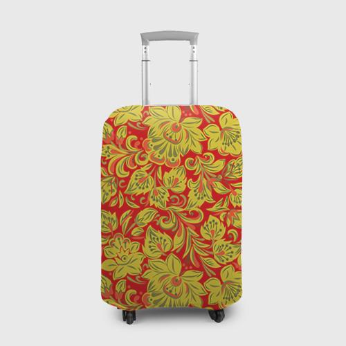 Чехол для чемодана 3D Хохлома Фото 01