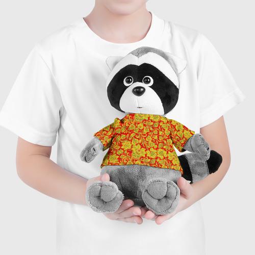 Енотик в футболке 3D Хохлома Фото 01