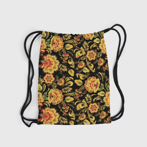 Рюкзак-мешок 3D Хохлома Фото 01