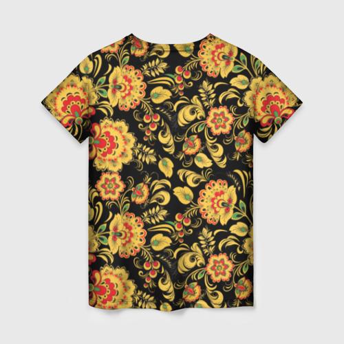 Женская футболка 3D Хохлома Фото 01
