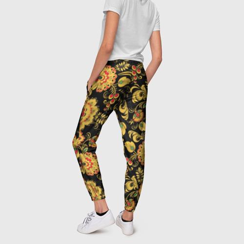 Женские брюки 3D  Фото 02, Хохлома