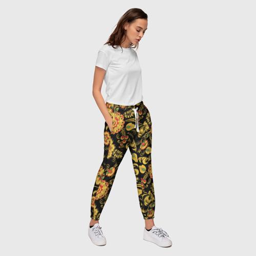 Женские брюки 3D  Фото 03, Хохлома