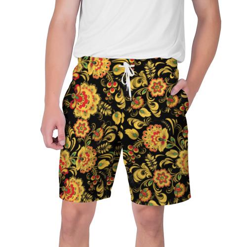 Мужские шорты 3D Хохлома