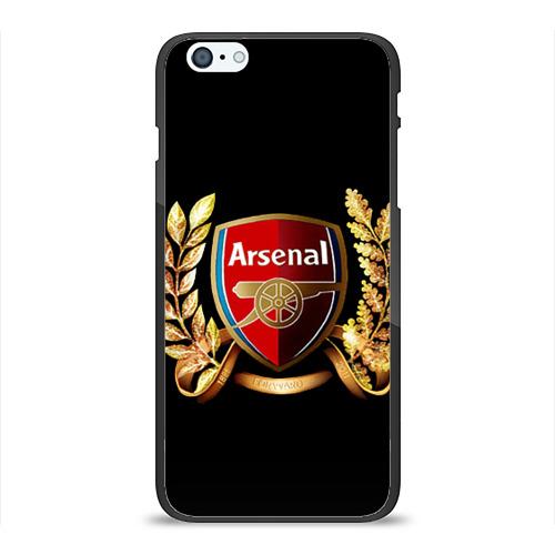 "Чехол силиконовый глянцевый для Apple iPhone 6 Plus ""Arsenal"" - 1"