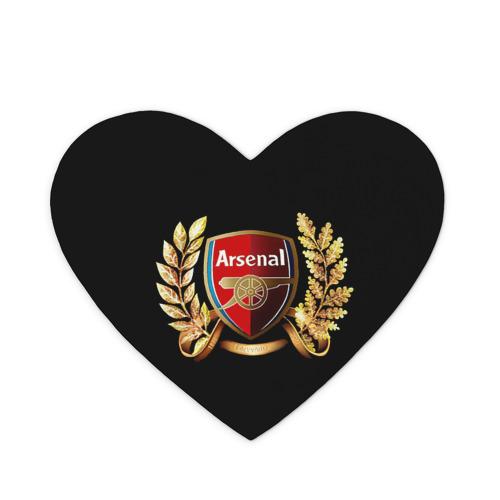 Коврик для мыши сердце Arsenal