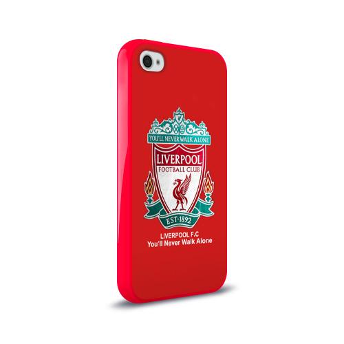 Чехол для Apple iPhone 4/4S силиконовый глянцевый Liverpool Фото 01