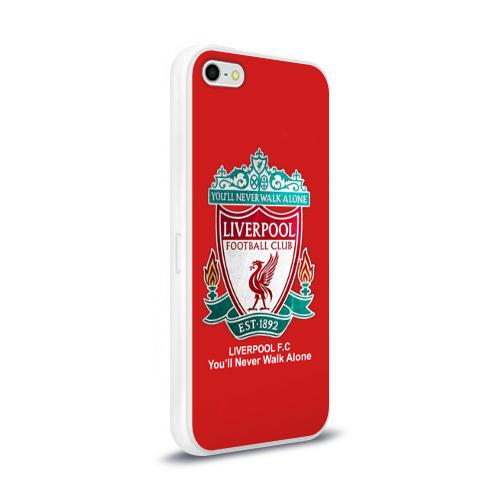 Чехол для Apple iPhone 5/5S силиконовый глянцевый  Фото 02, Liverpool