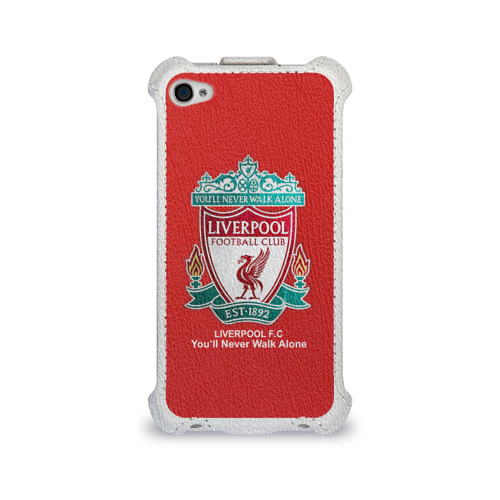Чехол для Apple iPhone 4/4S flip Liverpool