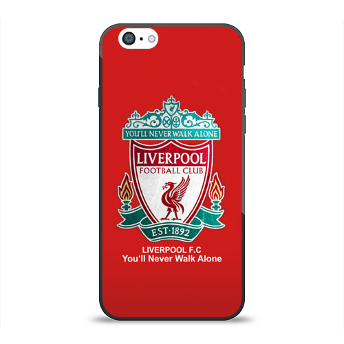 Чехол для Apple iPhone 6 силиконовый глянцевый Liverpool Фото 01