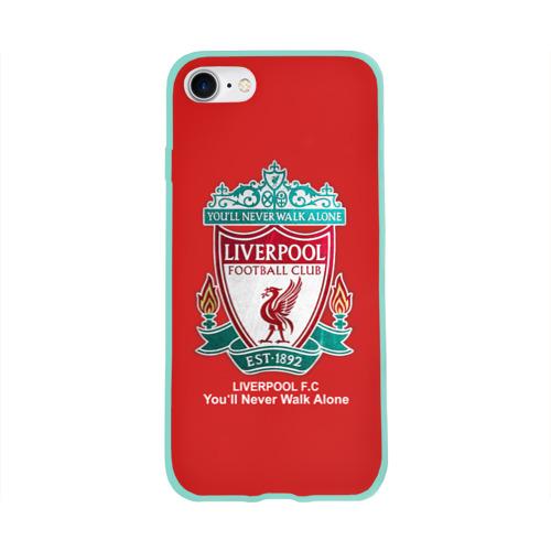 Чехол для Apple iPhone 8 силиконовый глянцевый Liverpool Фото 01