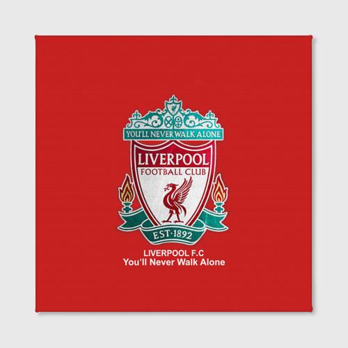 Холст квадратный  Фото 02, Liverpool