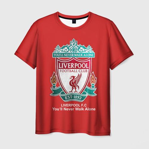Мужская футболка 3D Liverpool от Всемайки