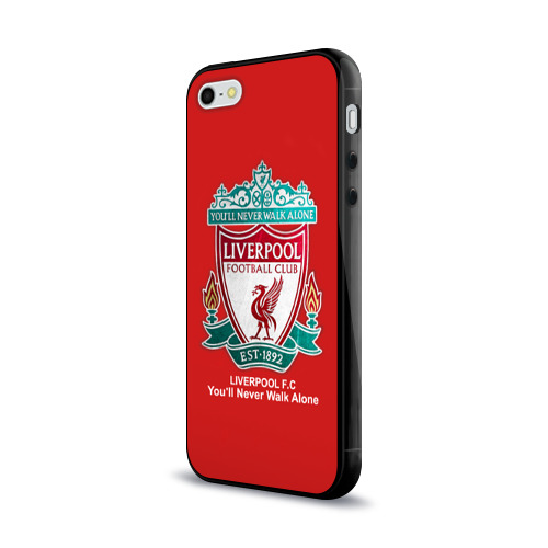 Чехол для Apple iPhone 5/5S силиконовый глянцевый Liverpool Фото 01