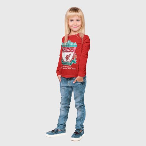 Детский лонгслив 3D Liverpool Фото 01