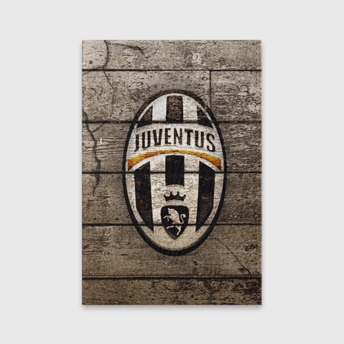Обложка для паспорта матовая кожа Juventus