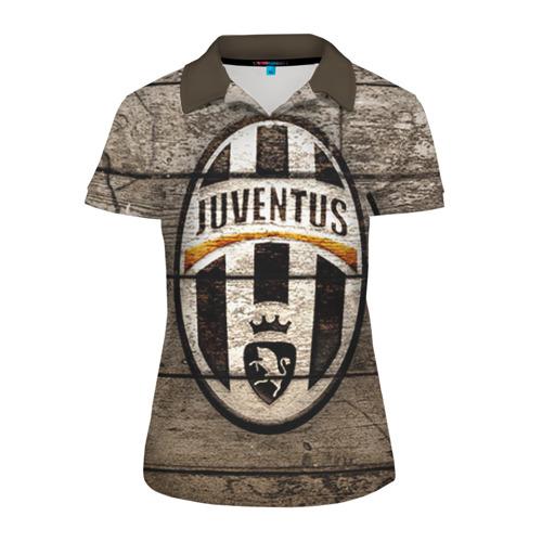Женская рубашка поло 3D Juventus