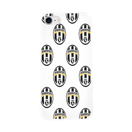 Чехол для Apple iPhone 8 силиконовый глянцевый  Фото 01, Juventus