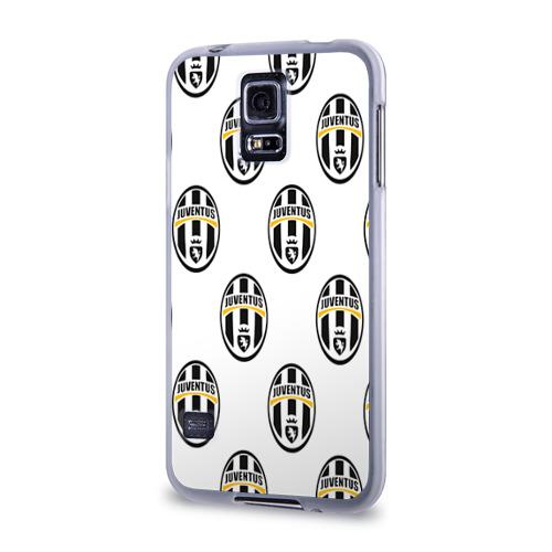 Чехол для Samsung Galaxy S5 силиконовый  Фото 03, Juventus