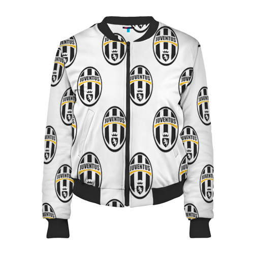 Женский бомбер 3D Juventus