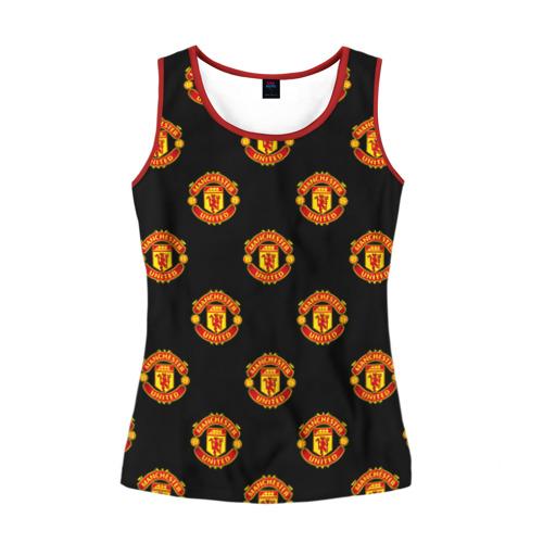 Женская майка 3D Manchester United