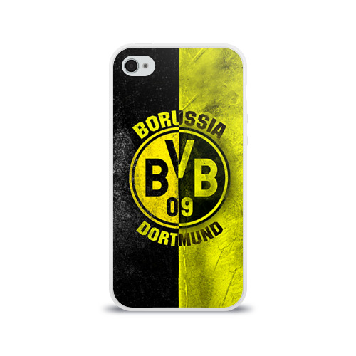 Чехол для Apple iPhone 4/4S силиконовый глянцевый BVB